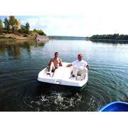 Водный велосипед Скат вместимость два взрослых пассажира и 1 ребенок до 12 лет фото