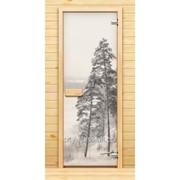 Дверь Арт серия с полноцветным рисунком ГлассДжет Дверь с окном фото