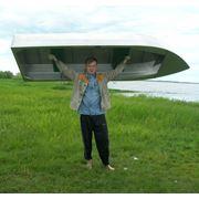 Алюминиевая лодка Малютка-Н 26 м. фото