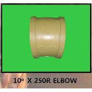 Колено бетоновода DN125mm-R250*-10* фото