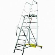 Лестница с платформой компактная ЛСПК-3,30 фото