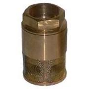 Клапан приемный сетчатый латунный КПЛ-50 фото