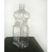Бутылка 1л. Плоская фото