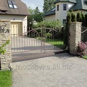Ворота откатные 1 фото