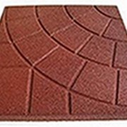 Квадратная однотонная плитка PlayMix, сетка, паутинка для отмостков бассейнов фото