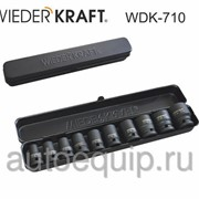 "Набор ударных головок 1/2"" 9-27мм WDK-710 фото"