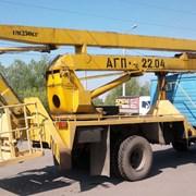 Аренда коленчатой автовышки Зил АГП-22.04 — 22 мет
