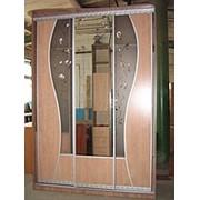 Шкаф - купе 3-х дверный, раздвижная система ADC фото