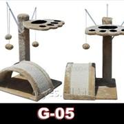 Когтеточка домик игровой комплекс для кота дряпка G-05 фото