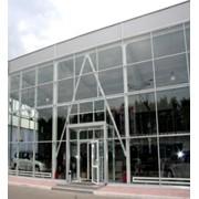 Алюминиевые витражи (фасадная система холодная и теплая серия) фото