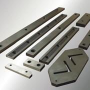 Гильотинные ножи для резки на гильотинных ножницах