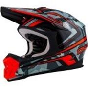 ONEAL Кроссовый шлем 7Series CAMO серый/оранжевый фото