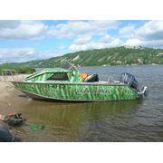 Алюминиевая лодка Фишлайн 570 фото