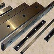 Ножи для металлургической и металлообрабатывающей отраслей промышленности фото