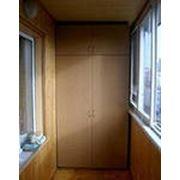 Ламинированный шкаф