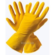 Перчатки хозяйственные латексные Миледи (12/120) фото