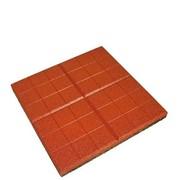 Плитка тротуарная Сетка красный фото