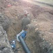 Строительство газификации и канализации фото