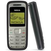 Телефон сотовый NOKIA 1200i black фото