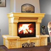 Облицовка камина МЕТА Ноктюрн 700 (кантри) фото