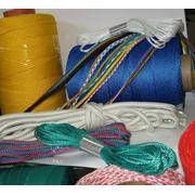 Веревки и нити диаметры 2-18мм.
