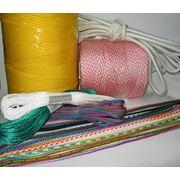Веревки плетеные и крученые диаметры 2-16мм. фотография