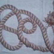 канаты и веревки льняные фото