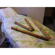Бамбуковые палочки для массажа фото
