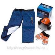 Husqvarna Комплект защитной одежды (штаны-чехол, шлем, перчатки) фото