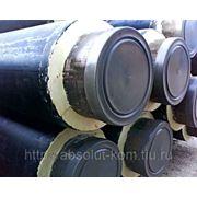 Труба ППУ Ст 377х6,0-1-ППУ-ПЭ ГОСТ 30732-2006 фото