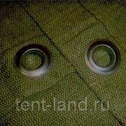 Полог брезентовый СКПВ 4 х 6 м, с люверсами фото