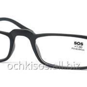 Очки для чтения SOS унисекс модель P 15079 Mat Black фото