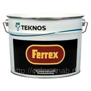 ФЕРРЕКС ТЕКНОС (FERREX TEKNOS), 10л - Грунтовка-краска по металлу. фото