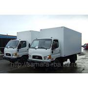 Промтоварный фургон на шасси Hyundai HD78 фото