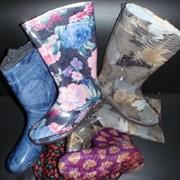 Сапоги резиновые модные фото