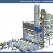 Стационарные асфальтобетонные заводы (АБЗ) серии DDS фото