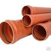 Труба РР ∅ 110 х 3,2 (оранжевая) фото