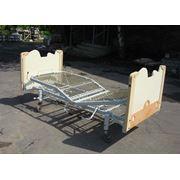 Кровать медицинская функциональная трёхсекционная фото