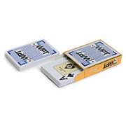 """Карты для покера """"Fournier WPT Gold"""" 100% пластик, Испания синие фото"""