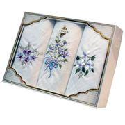 Платки носовые в подарочной упаковке арт. Пв 11 фото