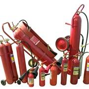 Огнетушители углекислотные фото