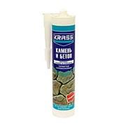 Герметик Krass Силиконовый для бетона и натурального камня бесцветный, 300 мл фото