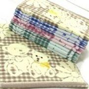Полотенце для рук с рисунком в виде ромашек