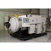 Промышленная высокотемпературная вакуумная печь фото