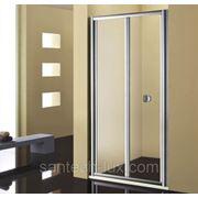Дверь для душа STURM Astra 750мм прозрачное стекло, профиль хром фото