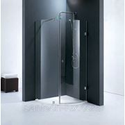 Уголок душевой STURM Sky 900х900мм прозрачное стекло, профиль хром