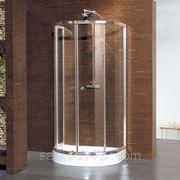 Ограждение душевое STURM Welle 1000х850мм прозрачное стекло, профиль хром фото