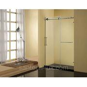 Дверь для душа STURM Ego 1400мм правая, прозрачное стекло, профиль хром фотография