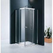 Уголок душевой STURM Joy 900х900мм увеличенная высота, прозрачное стекло, профиль хром фото