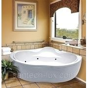 Гидромассажная ванна АМ.РМ BOURGEOIS 143х143 фото